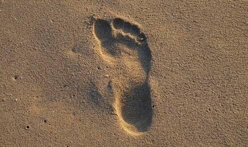 Step-on-sand