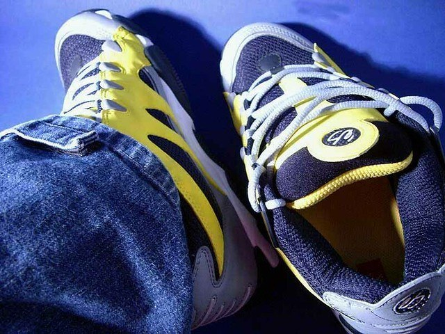 padding on shoes