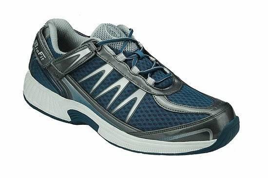 Orthofeet Plantar Fasciitis Heel Pain Relief Comfort Orthopedic Diabetic Athletic Walking Shoes Mens Sneakers Sprint