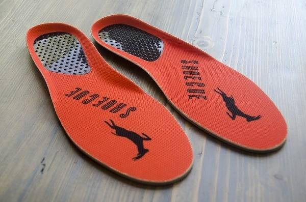 insole help to prevent foot from sliding