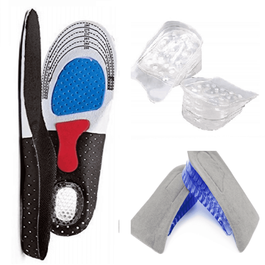 different types of silicon insole