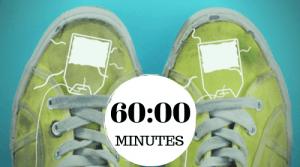 keep tea bag inside converse for 60 minutes