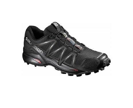 Salomon Men's Speedcross 4 Trail Running Shoe- for aggressively lugged trail runner shoes