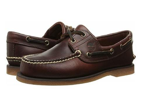 Timberland Men's Classic 2-EW Boat Shoe for being on feet