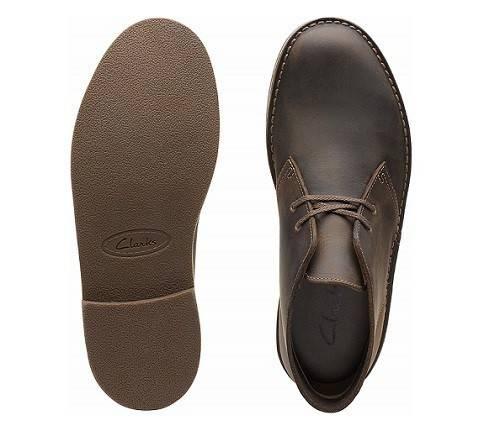 Clarks Men's Bushacre 2 Chukka Boot-Men's shoes for being on feet