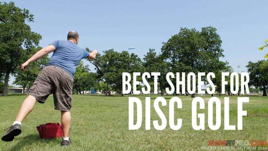 best shoes for disc golf