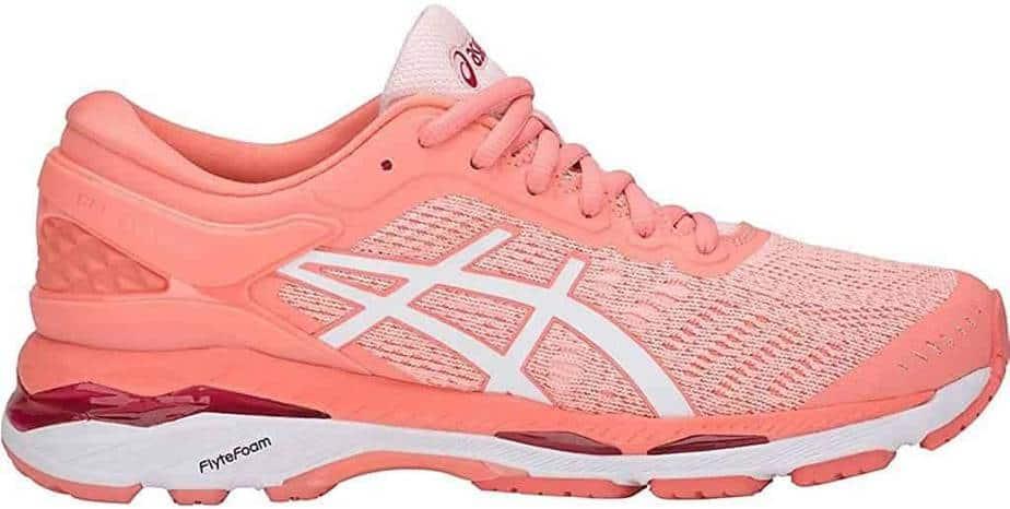 ASICS Women's Gel-Kayano 24 Best Running Shoe For Ankle Support
