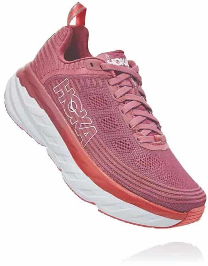 HOKA ONE, ONE Women's Bondi 6 Running Shoe- Best Workout Shoes For Ankle Support