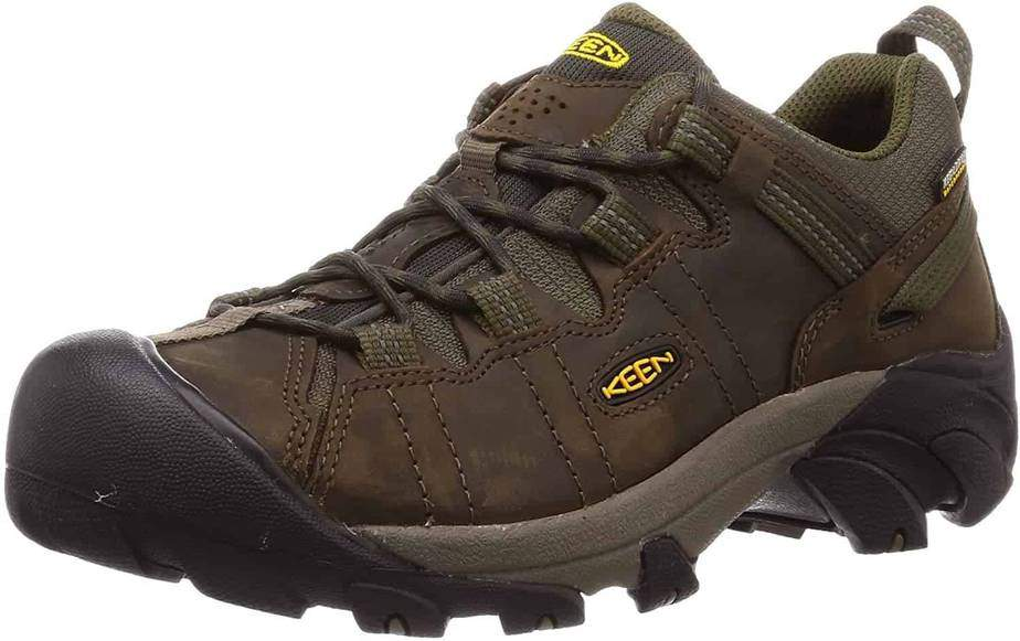 KEEN Men's Targhee II Hiking Shoe- Best Hiking Shoes For Ankle Support