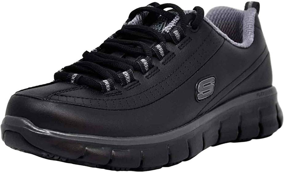 Skechers Work Sure Track – Trickel- Best Ankle Support Shoes For All Day