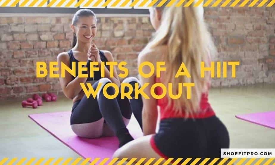 Benefits of a HIIT workout_A partner helpout each others