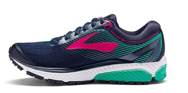 Brooks Women's Ghost 10 Best Road Running Shoe For Treadmill