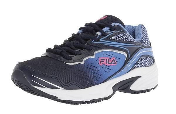 Fila Women's Memory Runtronic Slip Resistant - Best Work Shoe For Waitresses