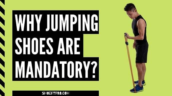 Why jumping shoes are mandatory_ A Man is adjusting rope for start Jumping