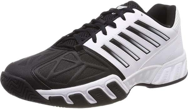 K-Swiss Bigshot Light 3 Mens Tennis Shoe For Flat Feet