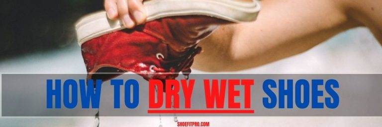 how to dry wet shoes