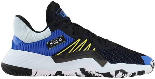 ADIDAS Mens D.O.N. ISSUE 1 _ Best Basketball Shoe for Flat Feet