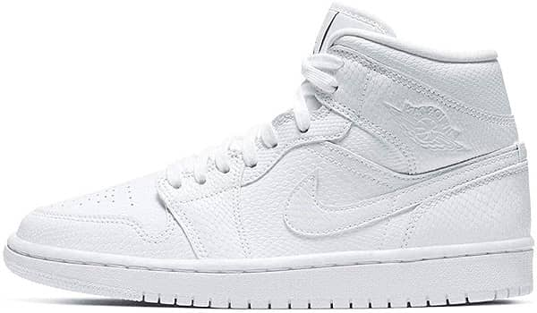 Air Jordan 1 Womens Mid _ Best Supported Basketball Shoes for Flat Feet