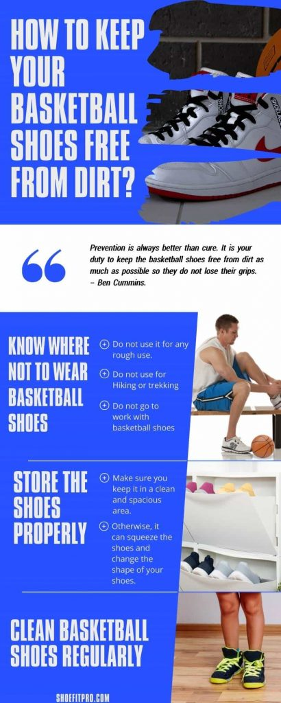 How To Keep Your Basketball Shoes Free From Dirt