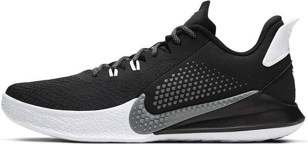 Nike Men's Kobe Mamba Fury - Best Flat Feet Basketball Shoe