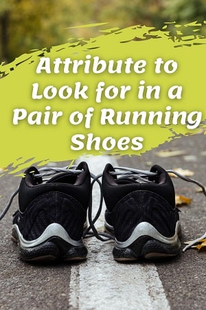 Attribute to Look for in a Pair of Running Shoes